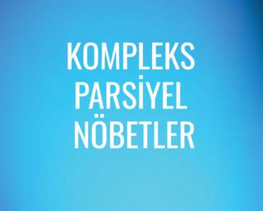 Kompleks Parsiyel Nöbetler