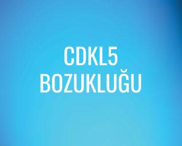 CDKL5 Bozukluğu