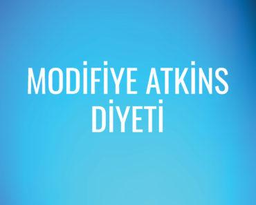 Modifiye Atkins Diyeti