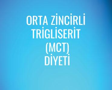 Orta Zincirli Trigliserit (MCT) Diyeti