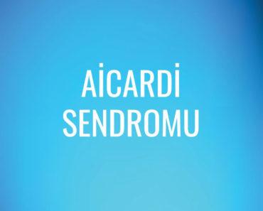 Aicardi Sendromu