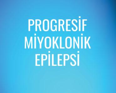 Progresif Miyoklonik  Epilepsi