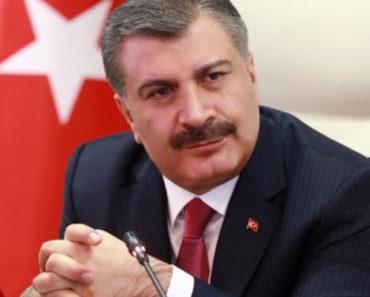 """Bakan Fahrettin Koca: """"Varlığını bilmek ise büyük bir güvence."""""""