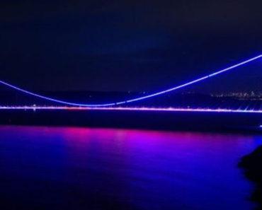 Dünya Epilepsi Günü için köprüler mor renkli ışıkla aydınlatıldı