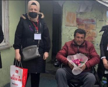 Yeniden Refah Partisi Bolu İl Kadın Kolları epilepsi hastalarını ziyaret etti