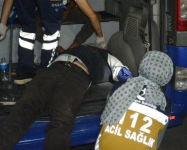 Sakarya'nın Erenler ilçesinde zabıtaya yakalanan bir kişi nöbet geçirdi